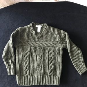 Janie and Jack Knitted Cable Sweater.Size 3